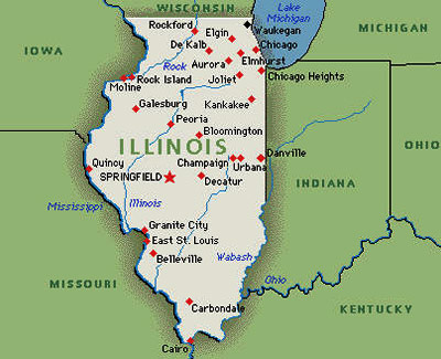 map of illinois state with Major Cities on West Virginia Lpn Requirements And Training Programs furthermore Mississippi further Illinois Capital Map as well L Ilot Des Apotres Grottes Glacees Wisconsin Etats Unis moreover Petrified Forest National Park.